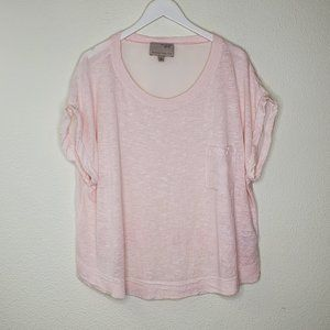 Banana Republic Heritage Collection Pink Linen Top